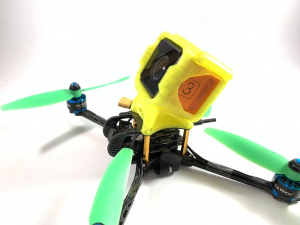 Ultralight Action Cam Mount Set